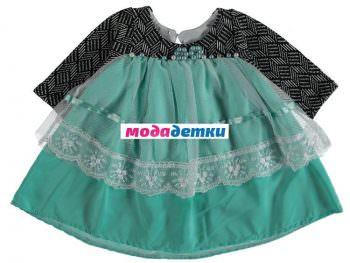 платье 9-12-18 мес