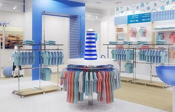 ассортимент одежды для детского магазина мода детки