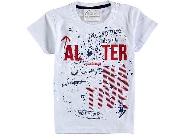 футболка 302795 белая