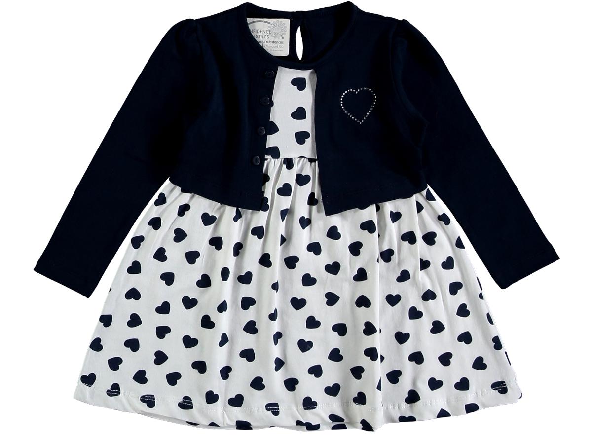 Платье 307396 кремового цвета