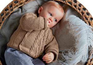 Вязаные кофты детские мода детки
