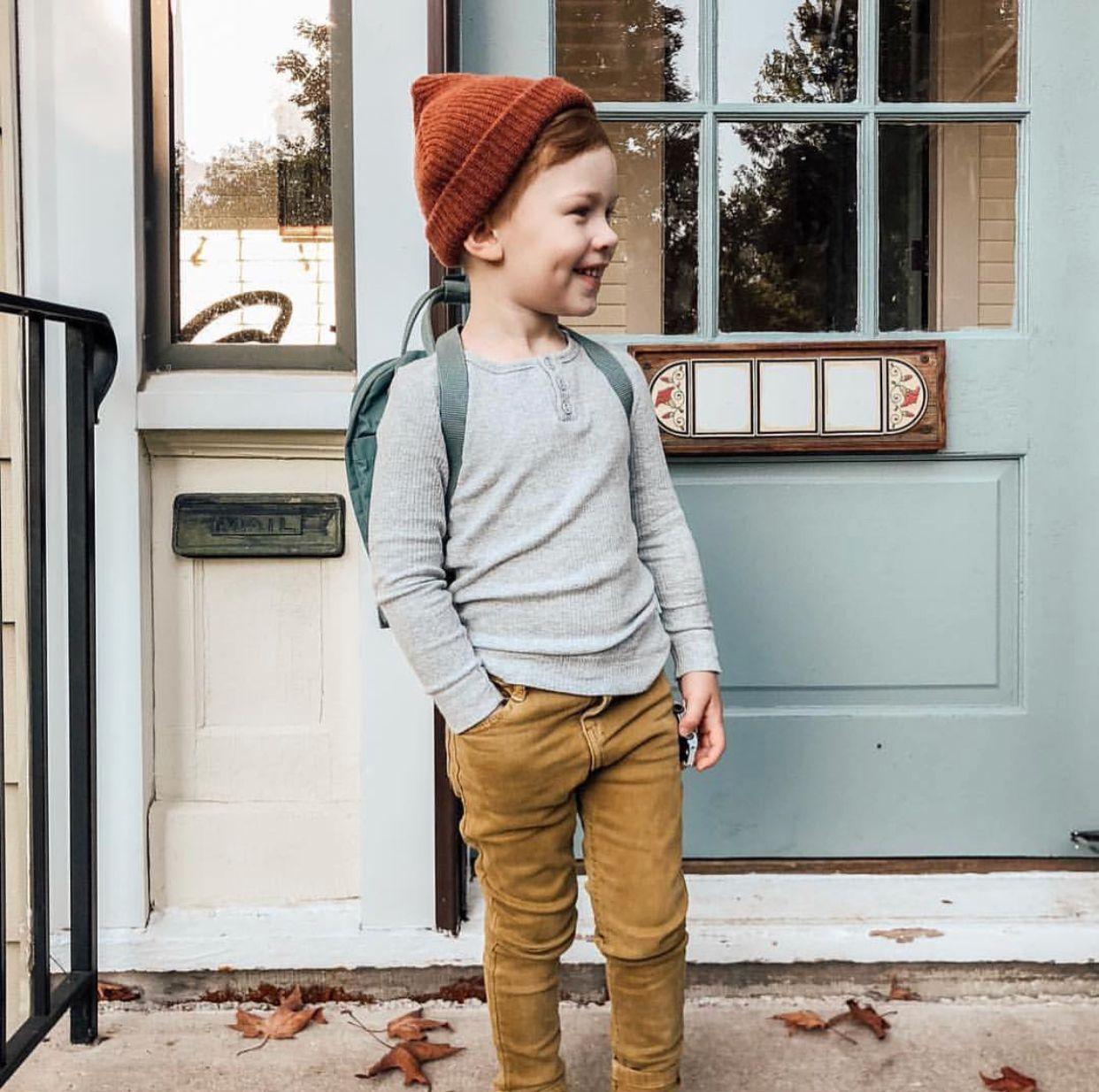Осенний гардероб на мальчика