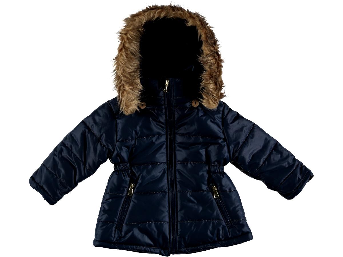 Куртка на тонком синтепоне 2/5 лет синяя 286737